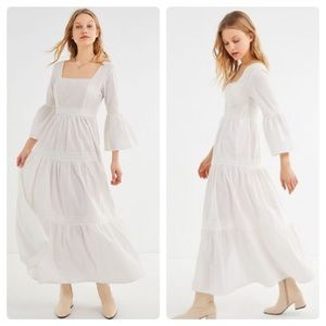Laura Ashley x UO Bella Lace Trim Maxi Dress